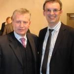 Dr. Jan Koukal, Botschafter der Tschechischen Republik in Wien mit dem Bürgermeister von Raabs, Mag. Rudolf Mayer, Copyright NÖN / René Denk